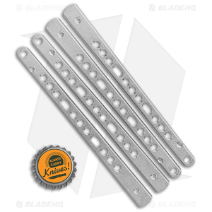 Flytanium V3 Titanium Handles for 6X Benchmade Balisong - Stonewash 62 63 67