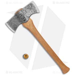 """Hoffman Blacksmithing 19"""" Saddle Axe w/ Hickory Handle"""