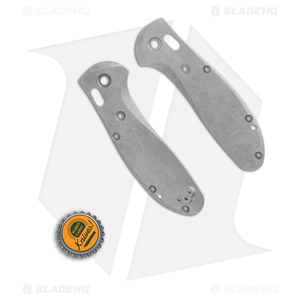 Flytanium Custom Titanium Scales for Benchmade Griptilian - Fully Contoured SW
