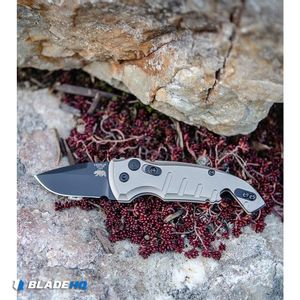 """Hogue Knives CA Legal A01 Microswitch Automatic Knife FDE (1.8"""" Black)"""