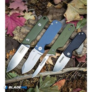 "Civilware IBK (Interchangeable Blade Knife) Fixed Blade OD Green G-10 (3"" Satin)"