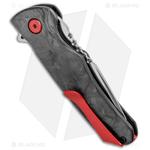 Buck-Sprint-Pro-Liner-Lock-Knife-Marble-Carbon-Fiber--3.125--Satin--0841CFS