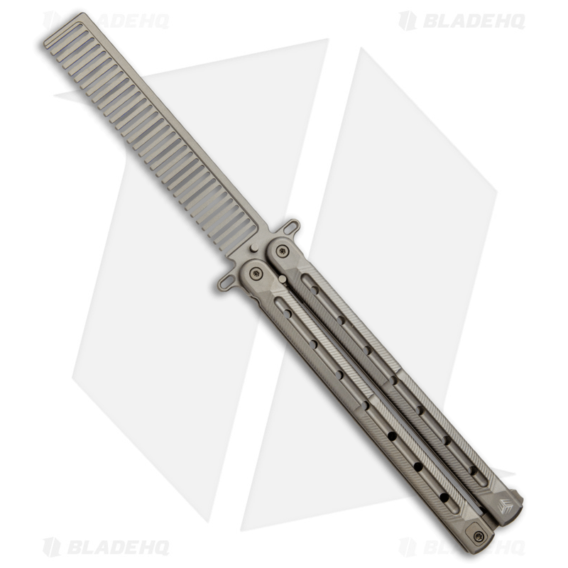 WE-Knife-Co.-Nerv-Butterfly-Trainer-Comb-Champagne-Titanium-907A