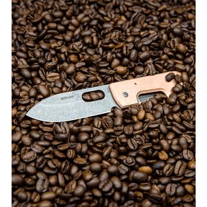 "Boker Plus Panchenko Copper Lancer Liner Lock Knife (3"" BB/SW)"