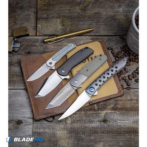 "Alliance Designs Hammond Scout Titanium Flipper Knife Blue (2.25"" Satin)"
