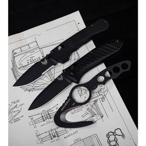 "Benchmade 427SBK Mini Vallation AXIS-Assist Knife Black (3.2"" Black Serr)"