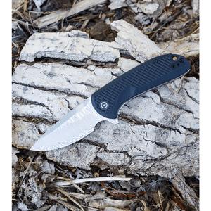 """CIVIVI Durus Liner Lock Knife Black G-10 (3"""" Damascus) C906DS"""