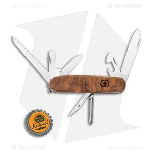 Victorinox Hiker Swiss Army Knife Walnut Wood