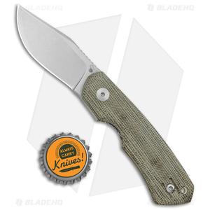 The Vox Dapper Knife by Blade HQ | Green Micarta