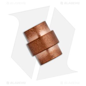 Flytanium Copper Crosshair Hole Stopper for Spyderco Paramilitary 2 and Para 3