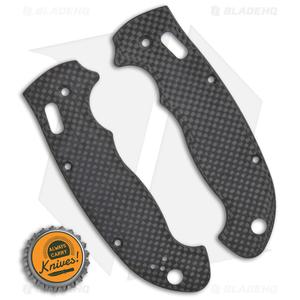 Flytanium Custom Carbon Fiber Scales for Spyderco Manix 2 XL