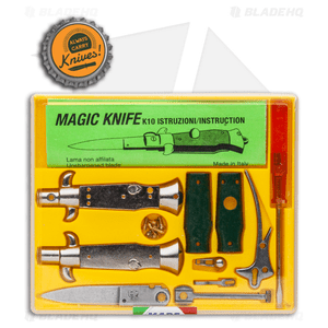 "SKM 4"" Italian Stiletto Keychain Kit - Green"