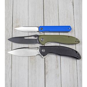 """CIVIVI Chronic Liner Lock Knife Blue G-10 (3.22"""" Satin)"""