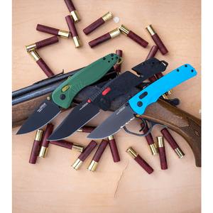 "SOG Aegis AT-XR Lock Knife Forest Green GRN (3.13"" Gray)"