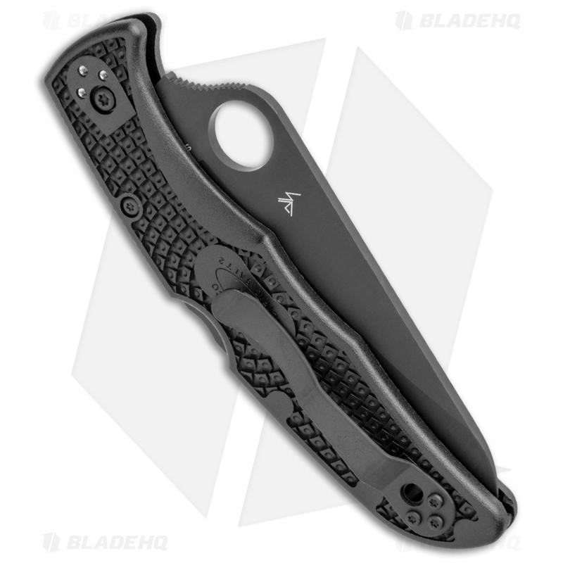 Spyderco-Pacific-Salt-2-Lockback-Knife-Black-FRN--3.4--Black--C91PBBK2-