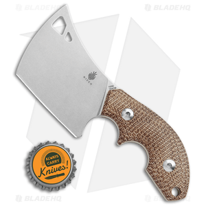 "Kizer Butcher Fixed Blade Knife Micarta (2.42"" Stonewash) 1039C2"