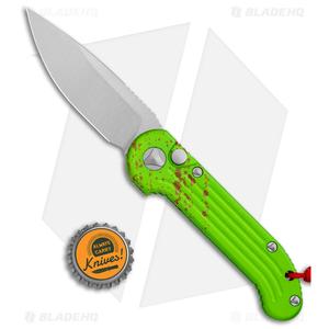 "Microtech LUDT Zombie Edition Automatic Knife (3.4"" Stonewash) 135-10Z"