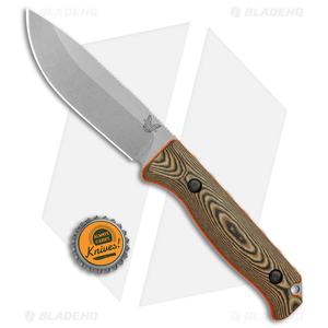 Benchmade Hunt 15002-1 Saddle Mountain Skinner Fixed Blade Knife Richlite/S90V