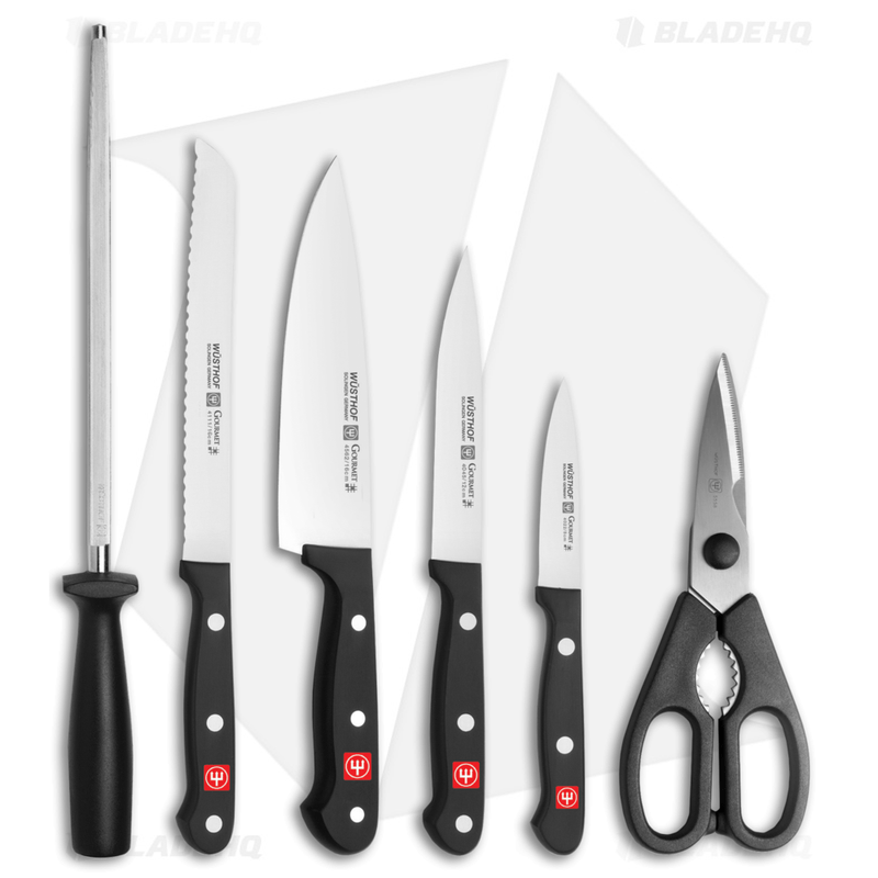 Wusthof-Gourmet-Kitchen-Knife-7-Piece-Starter-Block-Set