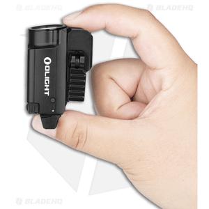 Olight BALDR Mini Black Tactical LED Flashlight + Weapon Mount (600 Lumens)