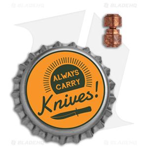 Flytanium Custom Thumb Stud Kit for Benchmade Knives - Copper
