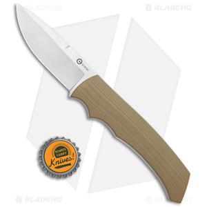 "CIVIVI M2 Backup Fixed Blade Knife Tan G-10 (3"" Satin) C2016A"