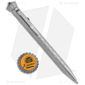 "CIVIVI Coronet Titanium Pen  5"" w/ Spinner Bearing Top CP-02A"