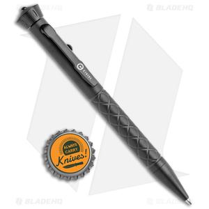 "CIVIVI Coronet Black Titanium Pen 5"" w/ Spinner Bearing Top CP-02B"