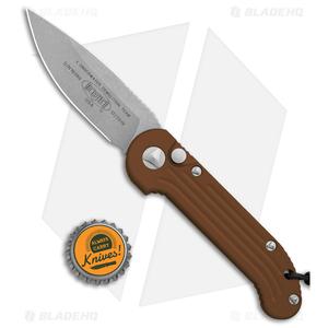 "Microtech LUDT Automatic Knife Tan (3.4"" Apocalyptic) 135-10APTA"