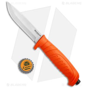 "Boker Magnum Knivgar Hunting Fixed Blade Knife Orange Polymer (4.1"" Satin)"