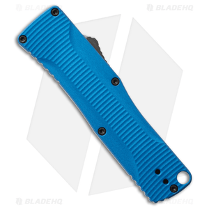 "Benchmade Om D/A OTF Automatic Knife Blue Alum. (2.5"" Gray)  4850-1"