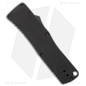 """Benchmade Om 4850BK D/A OTF Automatic Knife Black Alum. (2.5"""" Black)"""