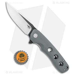 "Bestech Knives Arctic Liner Lock Knife Gray G-10 (3.5"" Two-Tone) BG33C-1"