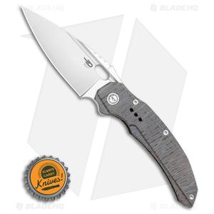 "Bestech Knives Exploit Frame Lock Knife Tiger Stripe Ti. (3.5"" Satin) BT2005D"