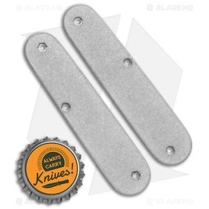 Flytanium Custom Titanium Scales for Victorinox Cadet Swiss Army Knife (84mm)