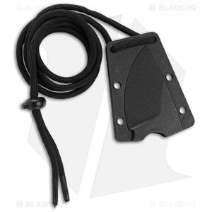 """CRKT Schwarz Tailbone Fixed Blade Knife Orange Cord-Wrapped (2.4"""" SW) 2415"""