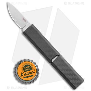 "CRKT Scribe Fixed Blade Knife Black GRN (1.8"" Stonewash) 2425"