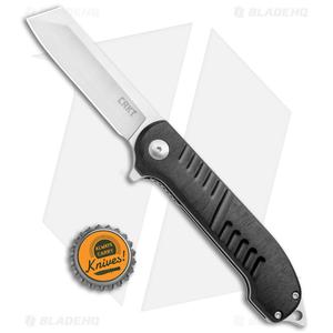 "CRKT Razel GT Frame Lock Knife Black (3"" Satin) 4031"