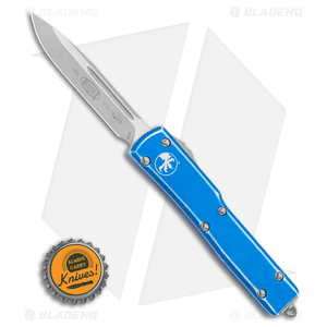 """Microtech UTX-70 S/E OTF Automatic Knife Distressed Blue (2.4"""" Apocalyptic)"""