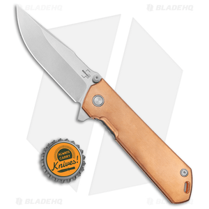 "Boker Plus Kihon Spring Assisted Knife Copper (3.5"" Stonewash) 01BO165"