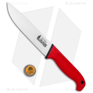 "Cold Steel Scalper Slock Master Fixed Blade Knife Red Kray-Ex (6.5"") 20VSTW"