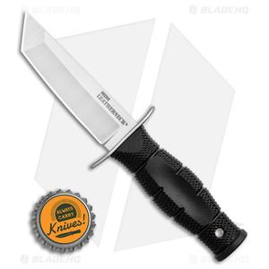 "Cold Steel Mini Leatherneck Tanto Fixed Blade Knife (3.5"" Satin) 39LSAA"