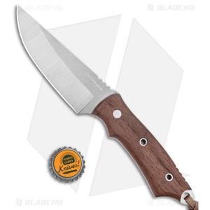 """Condor Native Hunter Fixed Blade Knife Walnut Scales (4.2"""" Satin)"""