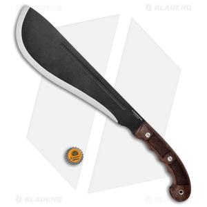 """Condor Departure Bolo Machete Fixed Blade Walnut (12.2"""" Black)"""