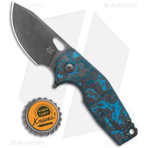 "Fox Knives Vox Limited Suru Frame Lock Knife Arctic Storm CF (2.3"" BSW)"
