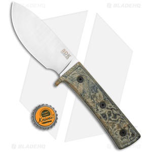 "Ontario Keene Valley Hunter Fixed Blade Knife Green Micarta (4.4"" Satin)"