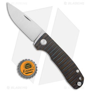 "PMP Knives Harmony Slip Joint Knife Flamed Titanium (3"" Satin)"