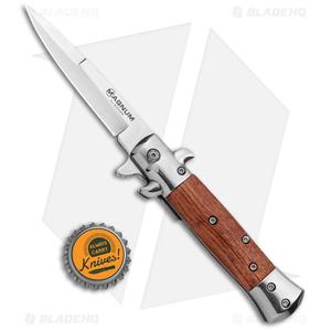 "Boker Magnum Italian Classic Small Spring Assist Knife Rosewood (3.3"" Polish)"