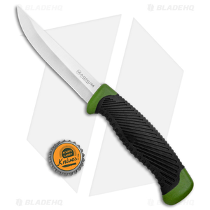 """Boker Magnum Falun Fixed Blade Knife Green Synthetic (3.9"""" Satin) 02RY103"""