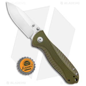 "Kizer Vanguard Hunter Liner Lock Knife OD Green G-10 (3"")  *Discounted*"